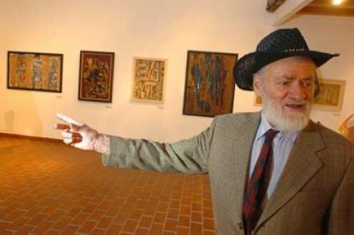 Schéner Mihály festőművész (MTI fotó)